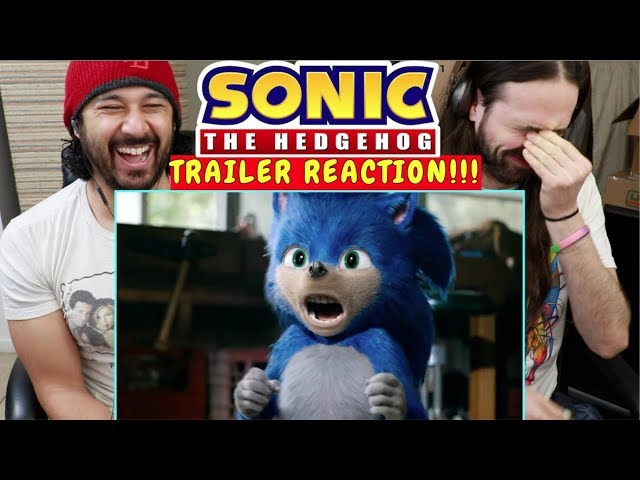 Sonic The Hedgehog 2019 Official Trailer Reaction
