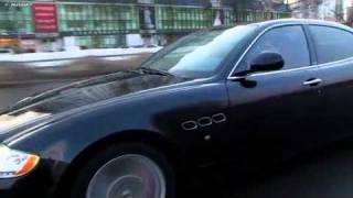 Maserati Quattroporte - Тест-драйв(Maserati Quattroporte - строгий, традиционный и роскошный итальянский спортсмен с двигателем от Ferrari с 4,7 литрами и..., 2011-05-18T20:32:15.000Z)