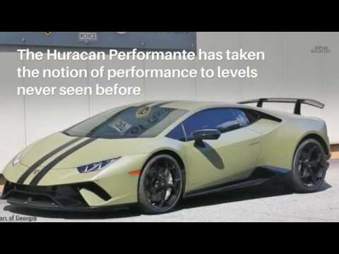 Lamborghini Huracan Performante For Sale Youtube