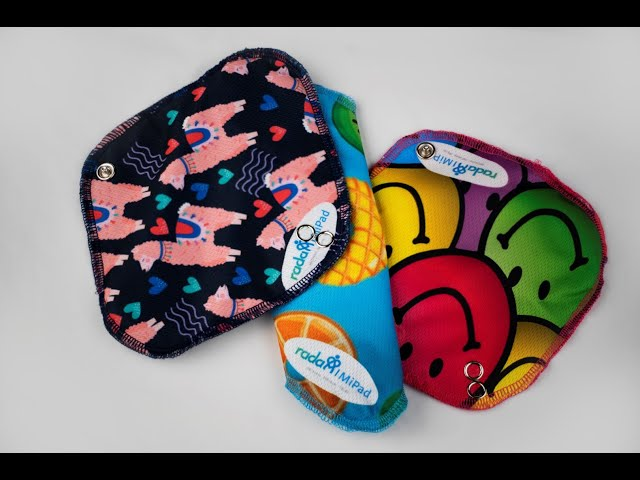 RADA MiPad reusable sanitary wear brought to you by RADA. MiChoice.  MiFuture.  MiLife.