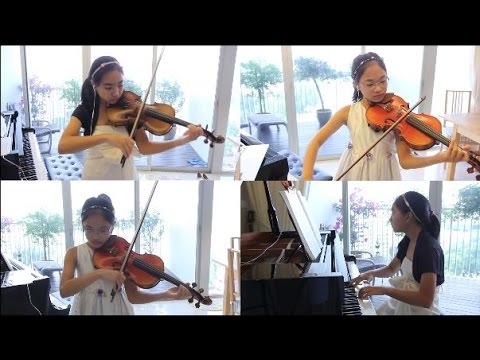 A Whole New World - Note & Pin - Violins & Piano