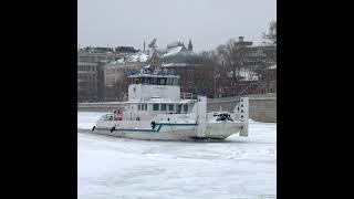 Ледокол на Москве-реке
