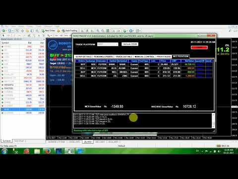 LIVE AUTO TRADING USING ROBO TRADER ON 03-11-2017. PROFIT 17000