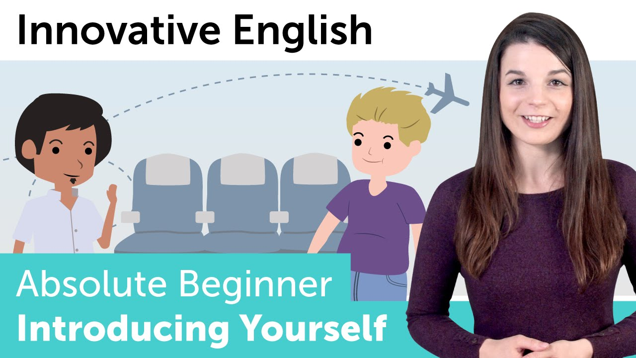 Learn English Introduce Yourself In English Innovative English