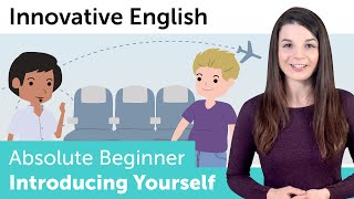 Learn English - Introduce Yourself in English - Innovative English