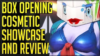 MOST EPIC BOX OPENING OVER AND NEW COSMETIC SHOWCASE/REVIEW - Overwatch! (With Added Shenanigans)