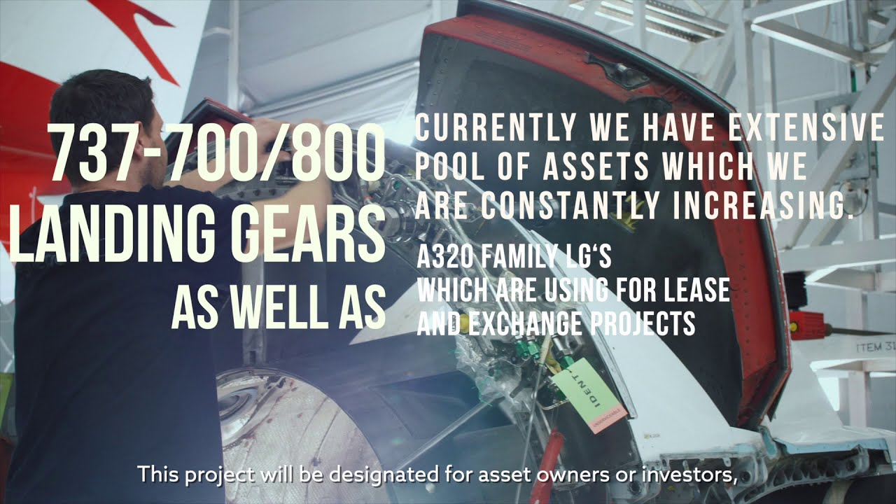 New Asset Management Program for Landing gears and APU's