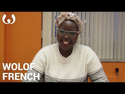 WIKITONGUES: Khady speaking Wolof and French