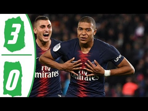 Paris Saint Germain vs Nimes 3-0 | STAT