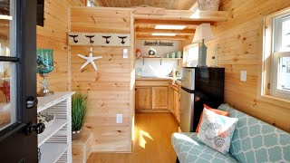 20 M2 Tiny House Double Lofts, 16 Long X 8.5 Wide Design Ideas