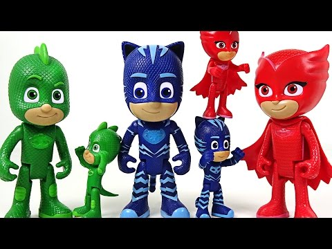 Thumbnail: Bigger and Talking PJ Masks appeared! Hulk, Spider Man! Don't go easy on us!! - DuDuPopTOY