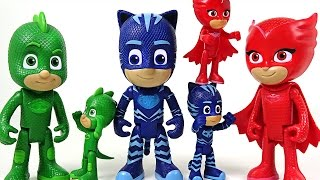Bigger and Talking PJ Masks appeared! Hulk, Spider Man! Don't go easy on us!! - DuDuPopTOY