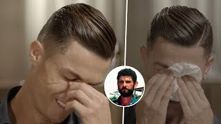That's why Cristiano Ronaldo burst into tears during the interview