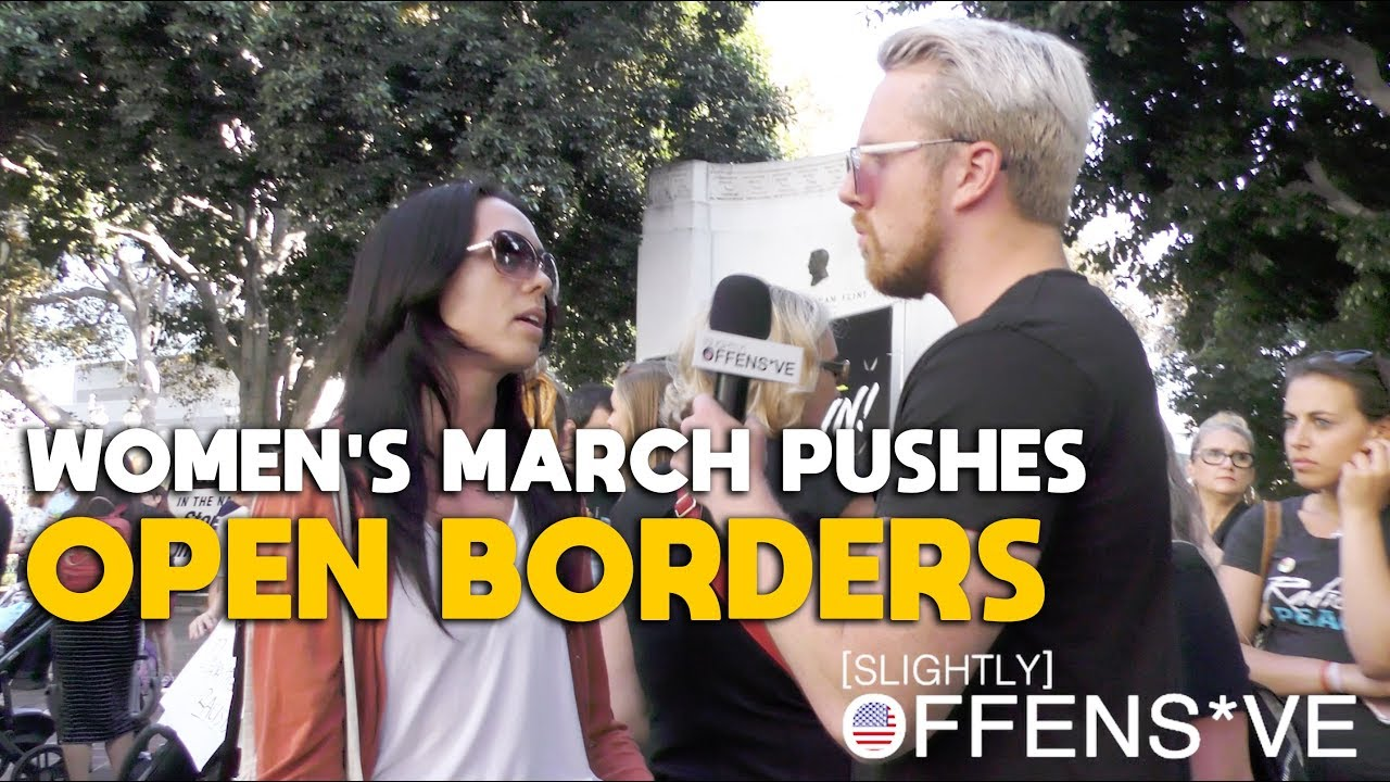 Women's March Movement Pushes Open Borders & Socialism | SLIGHTLY OFFENS*VE