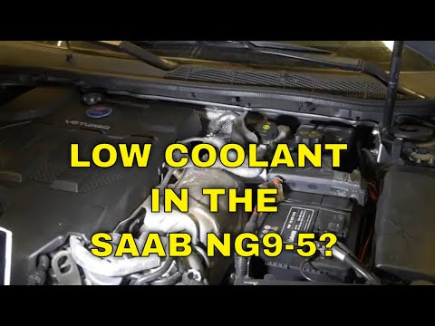 SAAB 9-5 Turbo6 – Low on Coolant? – Easy DIY Fix!
