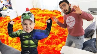 Yusuf turns into a superheroes and helping Uncle