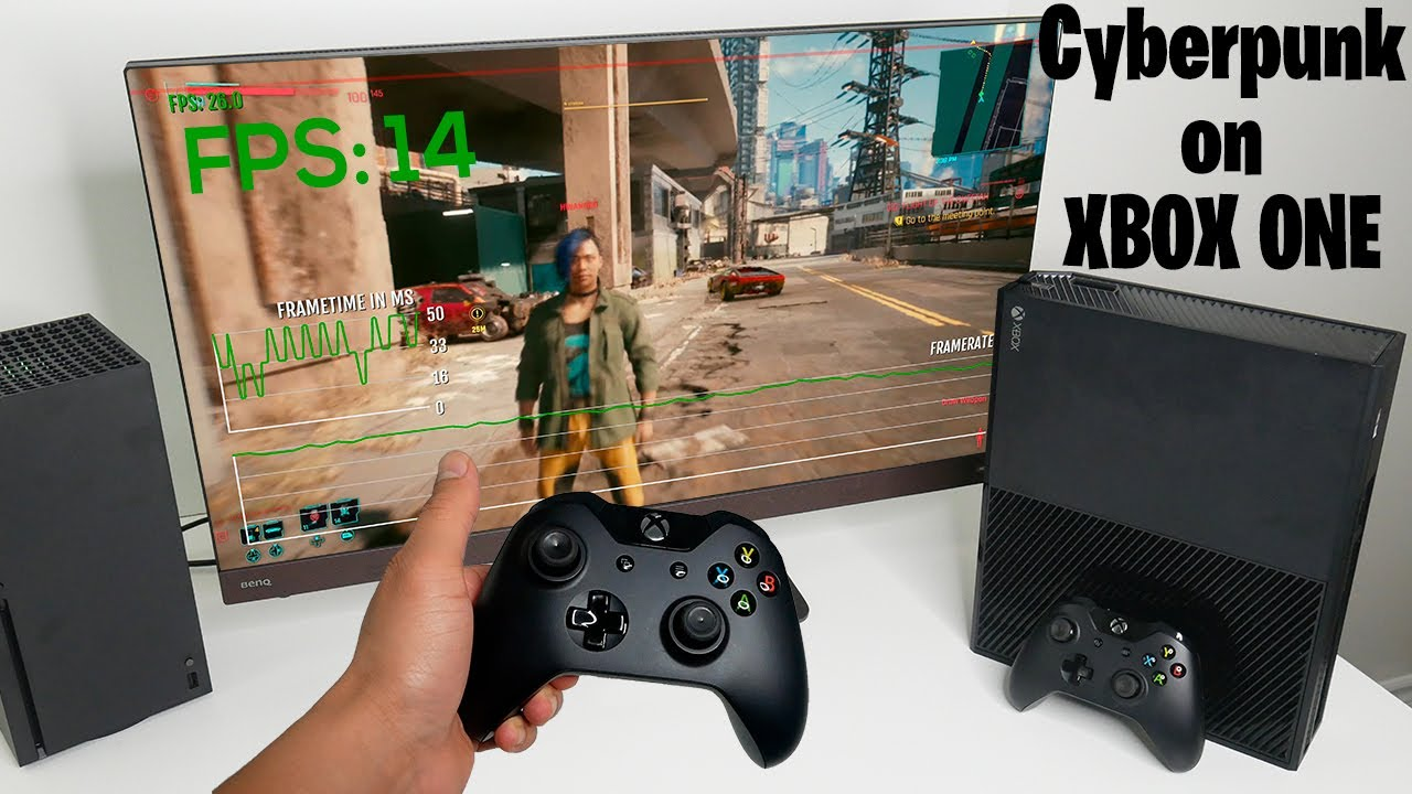 Cyberpunk 2077 on Xbox One (Original) - FPS, Graphics, Resolution and Load times vs Xbox Series X