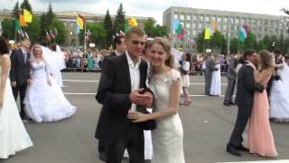 Кемерово 95 Свадебный парад 2
