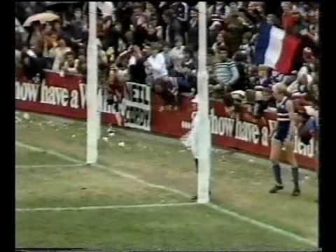 VFL R3 1983 - Footscray v Melbourne