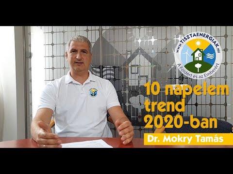 10 napelem trend