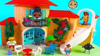 Most Amazing Summer Villa - New Playmobil Dream House with LOL Big Sister Video