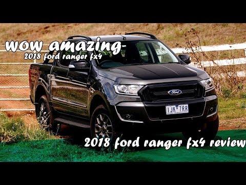 2018 ford ranger fx4