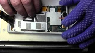 Sony Xperia Z c6602 замена сенсора (oca пленка)