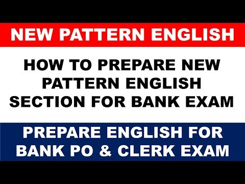 SBI PO 2017 : How to Prepare New Pattern of English Section || Full Discussion