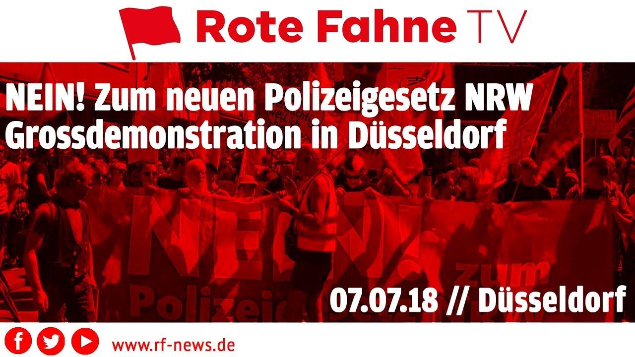 Demo Polizeigesetz Nrw