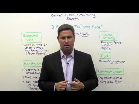 Commercial Deal Structuring 05: Strategies For Properties With Mezzanine Loans