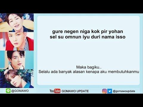 Easy Lyric SHINEE - COUNTLESS By GOMAWO [Indo Sub]