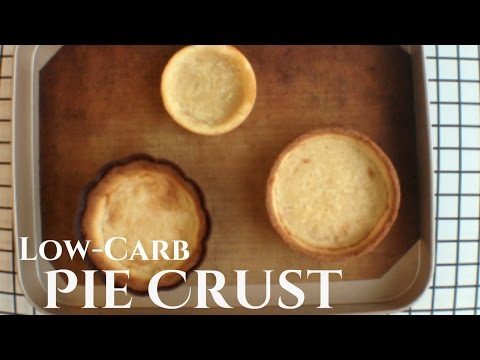 Keto Pie Crust   Low-Carb Pie Crust Recipe   Low-Carb Tart Shell