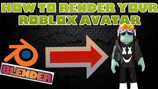 How to render your roblox avatar