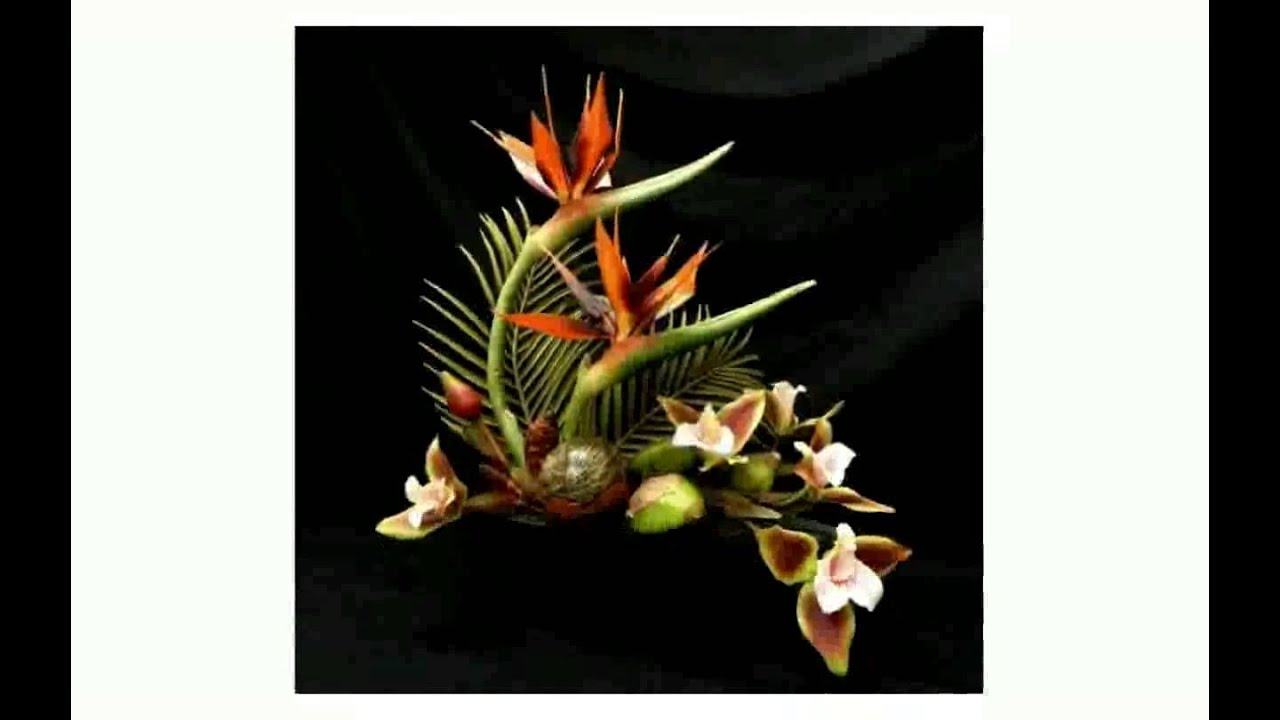 Tropical silk flower arrangements youtube tropical silk flower arrangements mightylinksfo Image collections