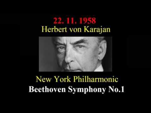 Beethoven Symphony No 9 Herbert von Karajan, New York 1958