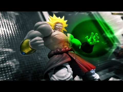 Dragon Ball stop motion - SHF Broly