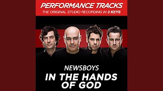 In The Hands Of God (Performance Track In Key Of D Without Background Vocals; Med. Instrumental...