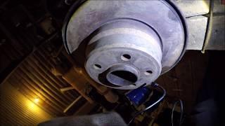 Кривой тормозной диск на бмв х5
