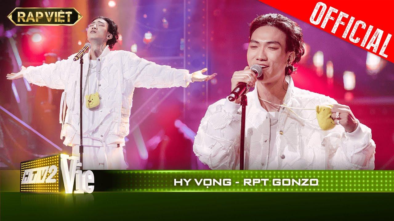 Khóc nghẹn khi RPT Gonzo rap về lũ lụt miền Trung cùng dàn đồng ca tại bản rap Hy Vọng   RAP VIỆT
