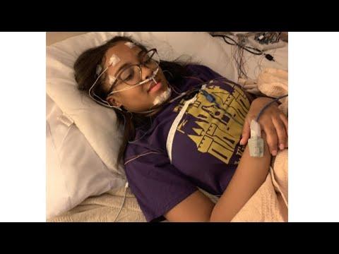 JAYDA FIRST SLEEP STUDY (she's okay) ❤️
