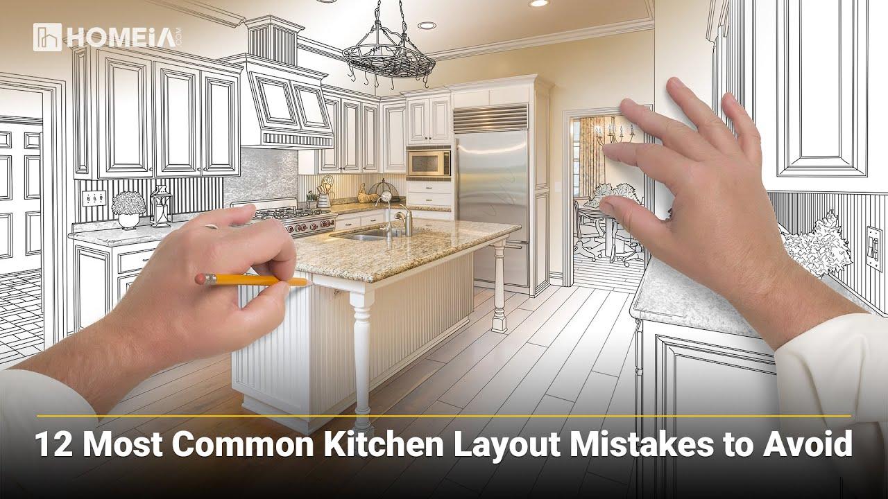 9 Most Common Kitchen Layout Mistakes to Avoid kitchenlayout mistakes