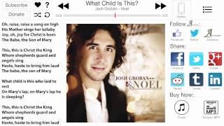 Noel - Josh Groban - Annotation Jukebox