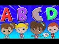 Alphabet Soup | Bottle Squad ABC Song | Kids Educational Video