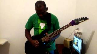 Estudando com Ozielzinho!  aula guitarra Rock!