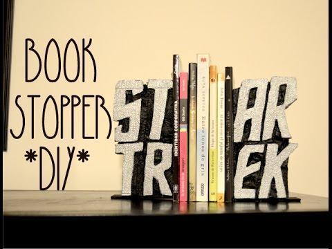 PP FANDOM STAR TREK BOOK STOPPER DIY YouTube