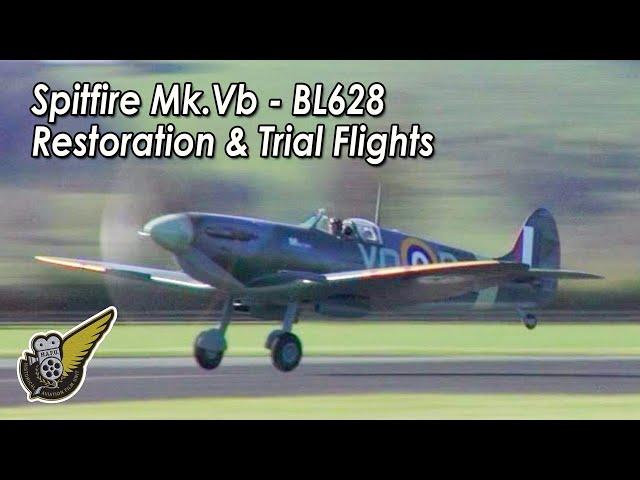 Spitfire BL628 - The Return Of Marion (Doco Trailer)