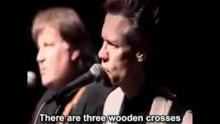 Randy Travis -Three Wooden Crosses Lyrics