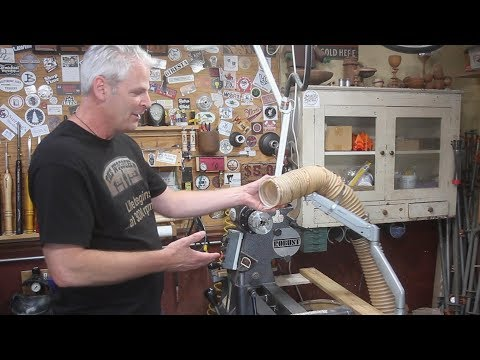 Woodturning - DIY Dust Collector Arm