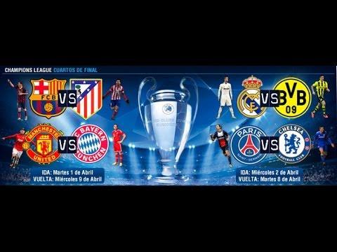 Fb 38 sorteo cuartos de final champions league 2013 14 for Cuartos de final champions
