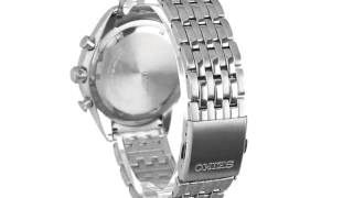 Seiko Men's SSC207 Analog Display Japanese Quartz Silver Watch(, 2015-07-07T21:25:10.000Z)